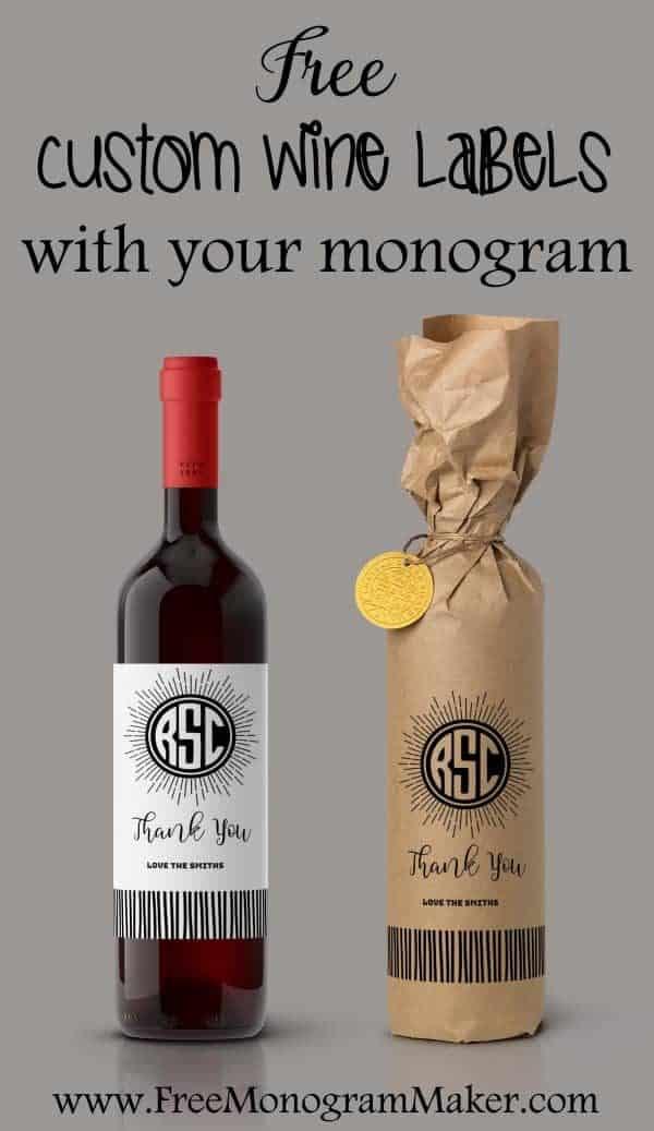 custom wine labels With custom wine label maker