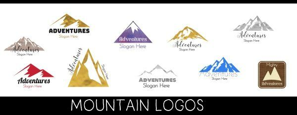 free mountain logo maker