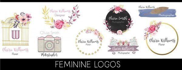 free feminine logo maker