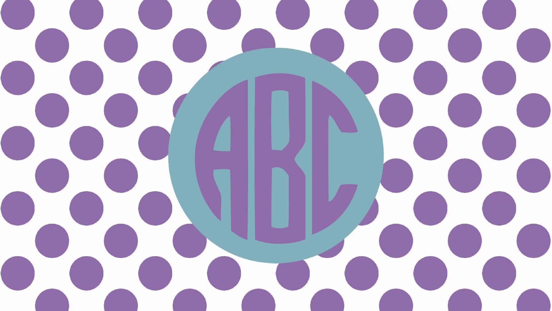 free monogram wallpaper maker