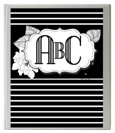 blackandwhite-binder-cover-2-400x463  Letter Monogram Fonts Template on free svg l'ha, embroidery curly, free kwm svg,
