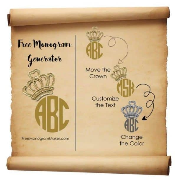 Free monogram generator