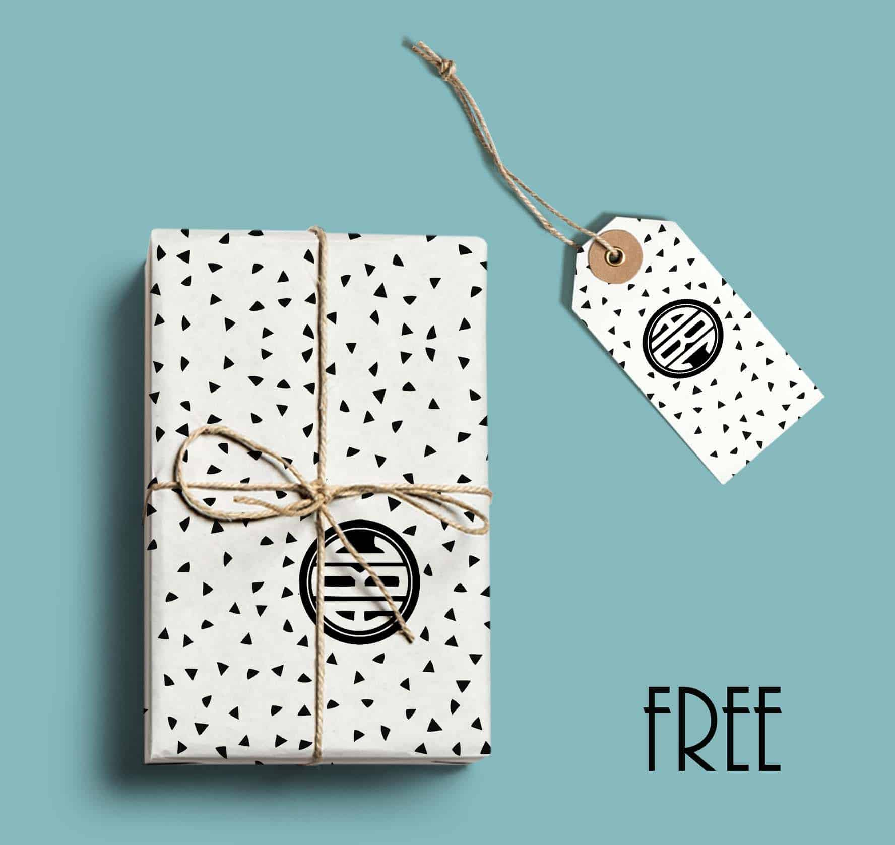 image about Free Printable Wrapping Paper known as Free of charge Printable Monogram Paper