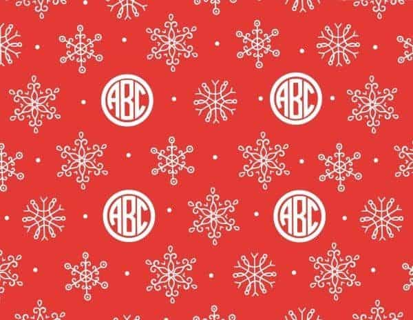 red and white Christmas paper