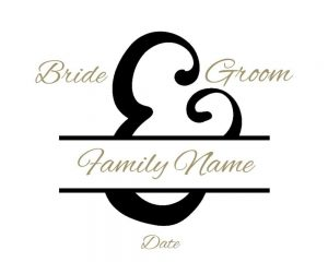 wedding monograms