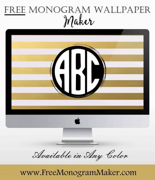 Monogram Wallpaper Create And Customize Online Free