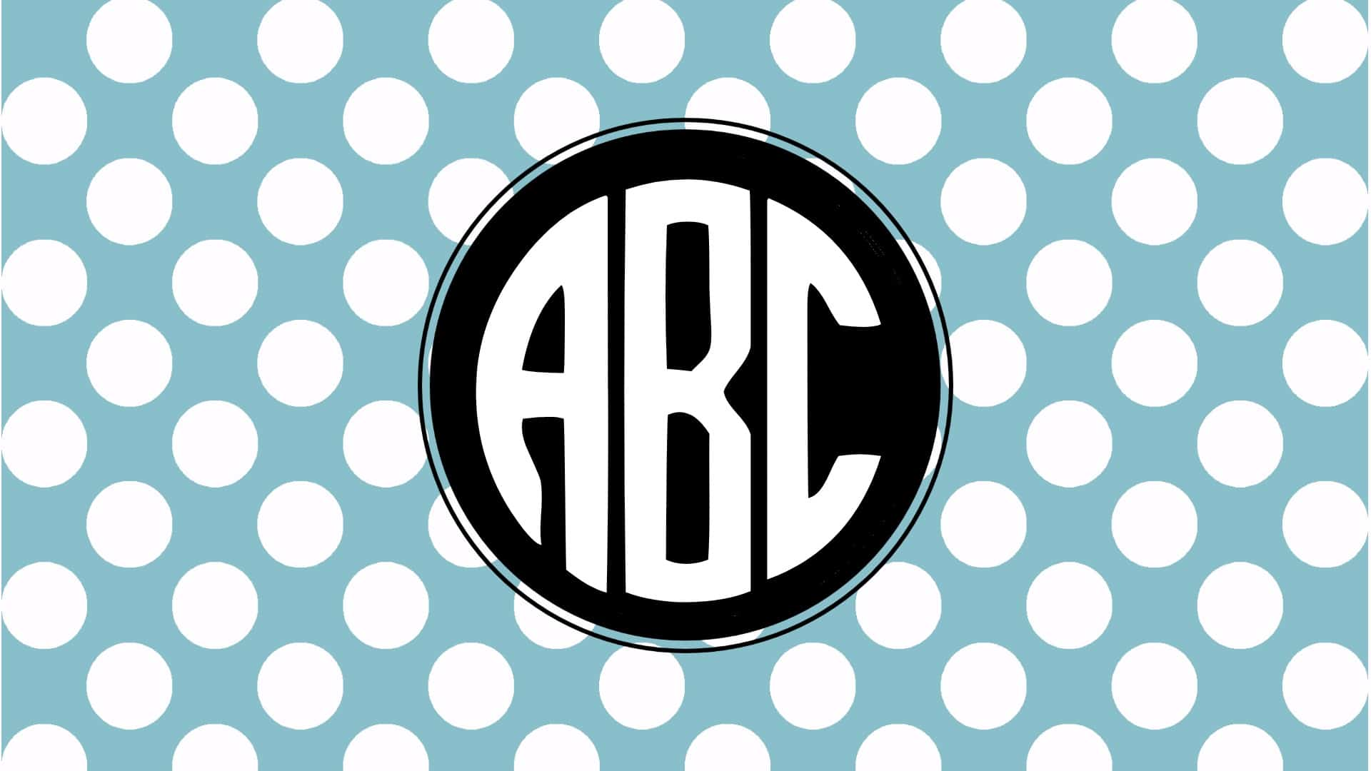 monogram background