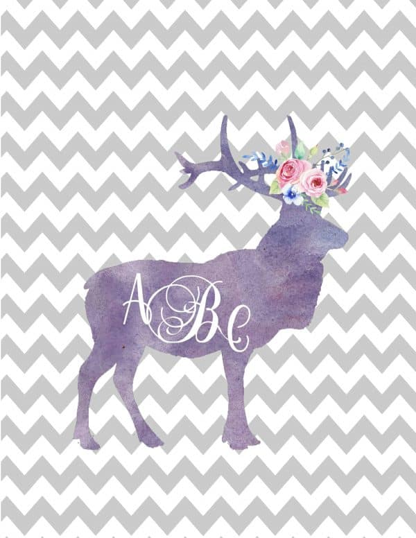 It's just a picture of Playful Monogram Maker Printable