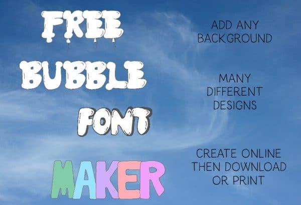 bubble letters maker