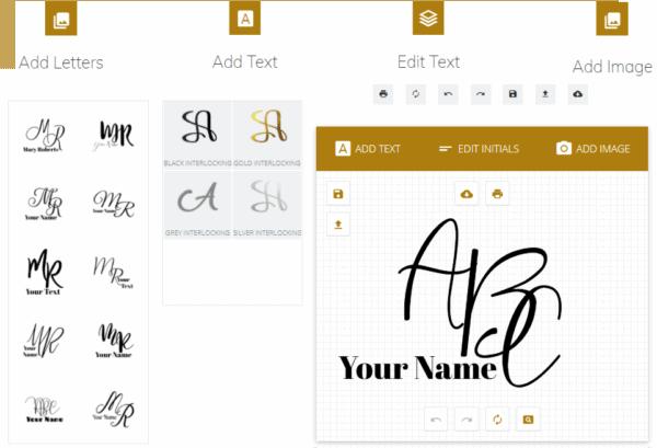 Interlocking font generator
