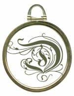 copper pendant style frame