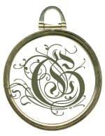 gold vintage style frame