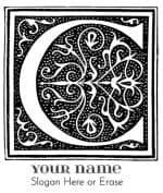 letter c vintage