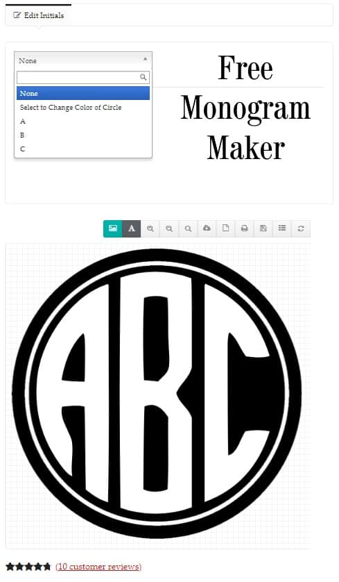 graphic about Printable Monogram Maker identify Totally free Monogram Company Customise On the internet All Strategies 100% No cost!