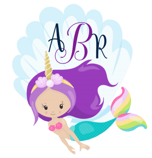 Pretty unicorn with large shell