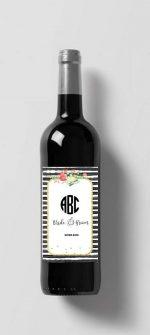 Wine label printable